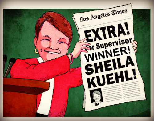 SEIU-backed Sheila Kuehl for the Win!